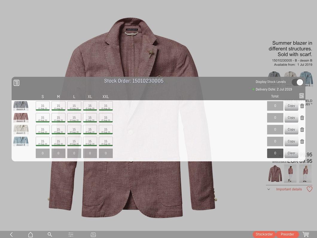 colect sales rep app