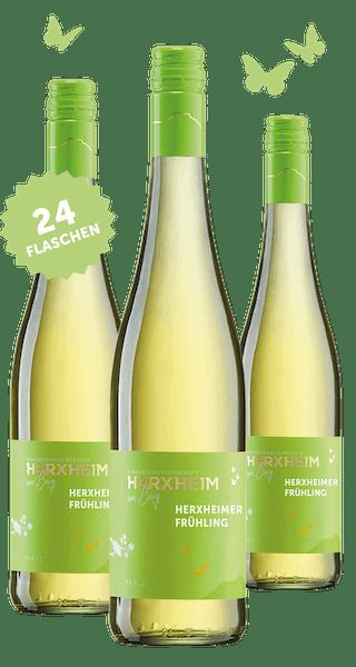 2019 Angebot: 24 Flaschen Herxheimer Frühling - Weißweincuvée