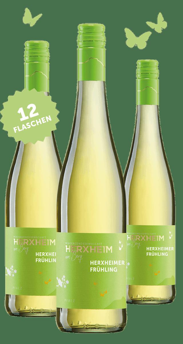 12 Flaschen 2020 Herxheimer Frühling