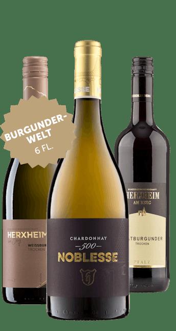 Angebot: 6 Flaschen Burgunderwelt