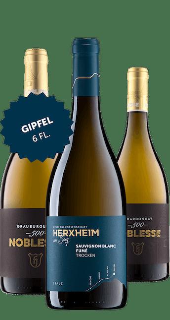 Angebot: 6 Flaschen Gipfel Paket