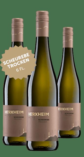NEUHEIT: 6 Flaschen 2019 Scheurebe trocken