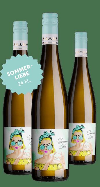 Angebot: 24 Flaschen Sommerliebe Weißweincuvée trocken