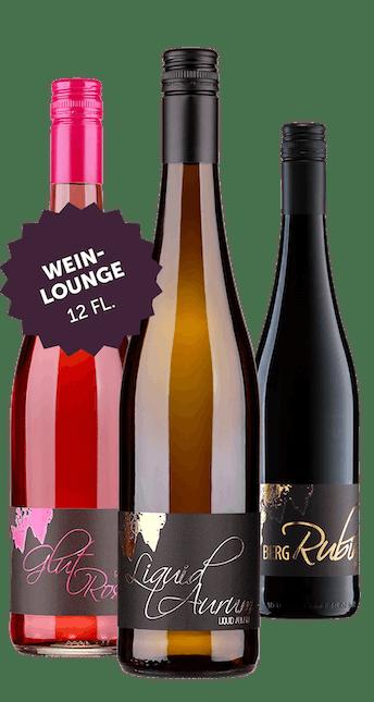 Angebot: 12 Flaschen Weinlounge Paket