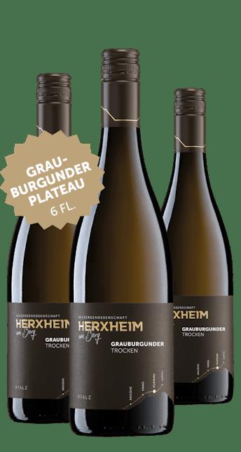 Angebot: 6 Flaschen Grauburgunder trocken
