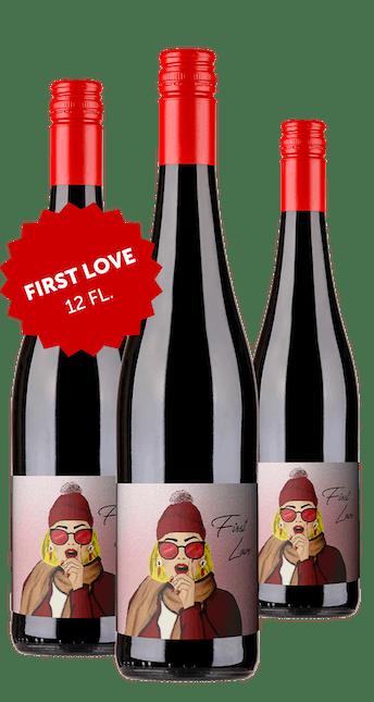 First Love Rotwein Cuvée trocken