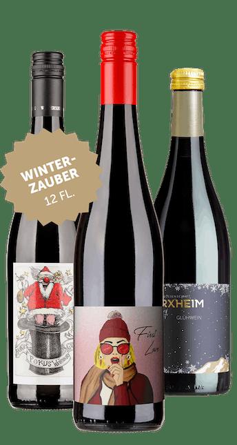 12 Flaschen Winterzauber