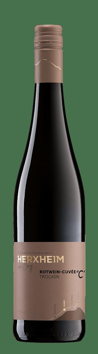 """2018 Cuvée """"C"""" Rotwein trocken"""