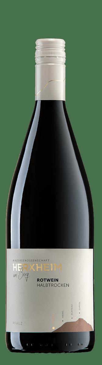 2018 Rotwein Halbtrocken