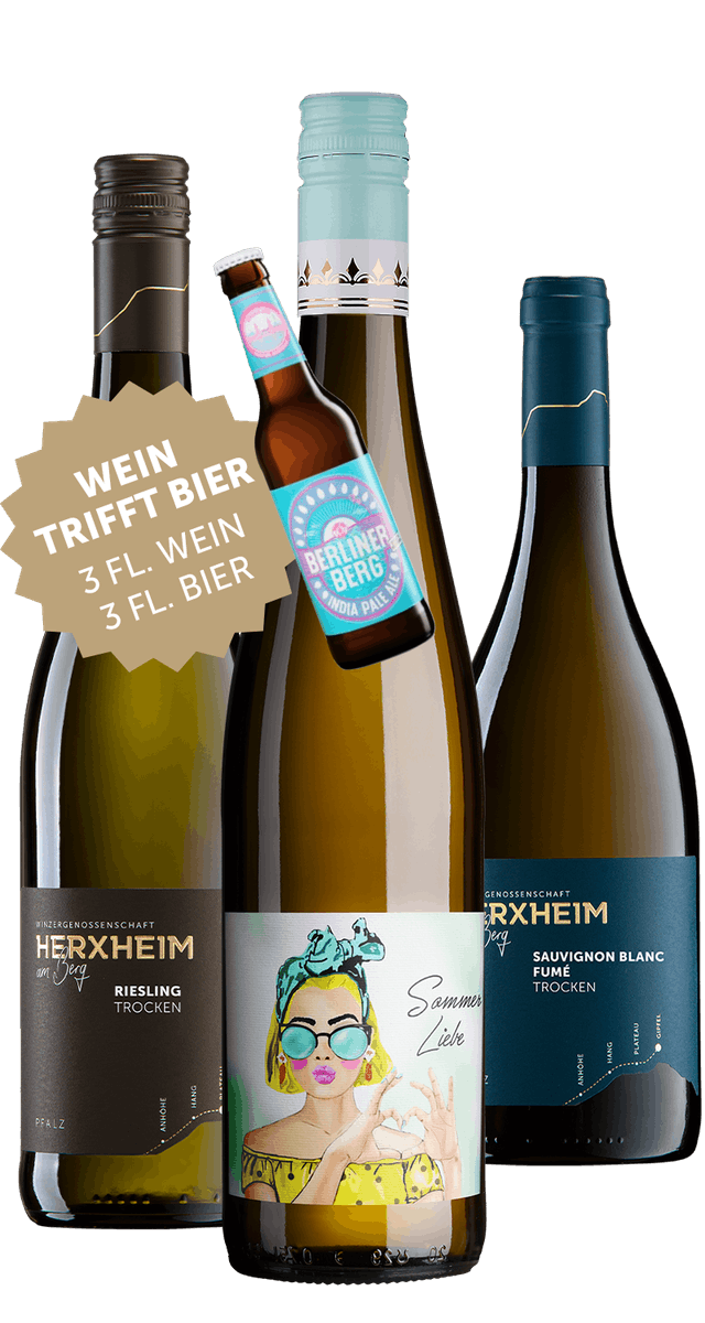 """""""BERG""""Wein trifft """"BERG"""" Bier"""