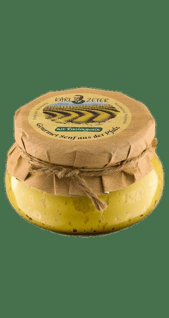 Gourmet Senf mit Rieslingwein 250ml
