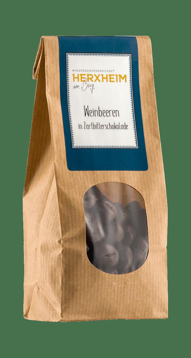 Weinbeeren in Schokolade 150g
